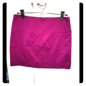 Express Design Studio mini skirt, fuchsia, size 2